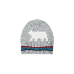 Baby Boys & Little Boys Polar Bear Ribbed Beanie