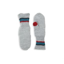 Baby Boys & Little Boys Ribbed Mittens