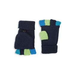 Baby Boys & Little Boys Colorblock Convertible Mittens