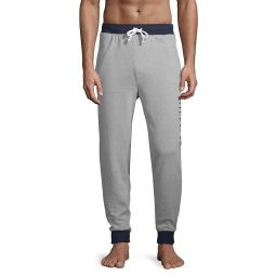 Graphic Cotton-Blend Jogger Pants