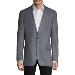 Standard-Fit Patterned Blazer