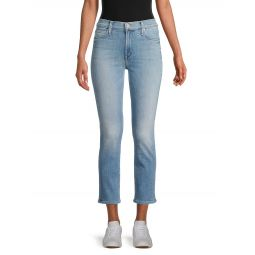 The Mid-Rise Dazzler Ankle Jeans