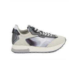 Tiger Suede & Textile Sneakers