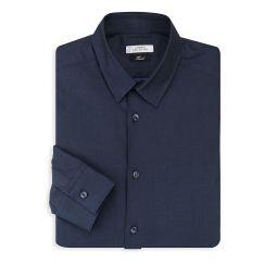Button-Front Dress Shirt