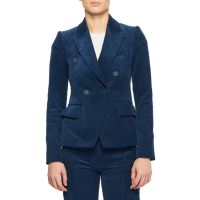 Double-Breasted Corduroy Blazer and Matching Items