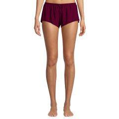 Shaya Cotton Lounge Shorts Maroon