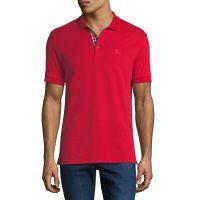 Mens Hartford Polo Shirt Red