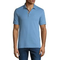 Mens Hartford Polo Shirt Light Blue