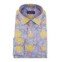 Mens Choppa Print Aston Dress Shirt