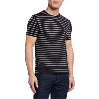Mens Striped Cotton T-Shirt