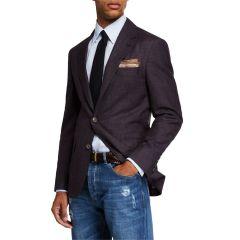 Mens Deconstructed Jacket