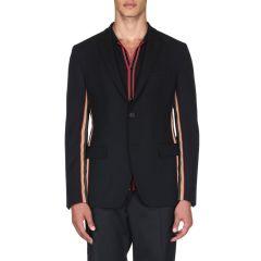Mens Striped Blazer
