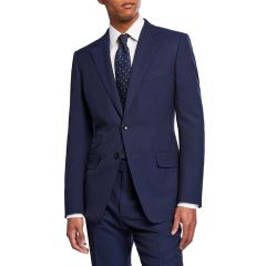 Mens OConnor Base Two-Piece Wool Suit