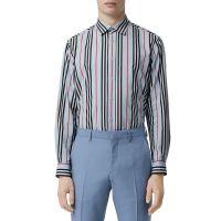 Mens Striped Sport Shirt