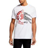 Mens Soleford Spliced Logo T-Shirt