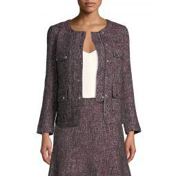Shaylene Tweed Zip-Front Jacket