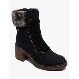 Whitley Heeled Lace-Up Boots