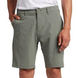 QuiksilverUnion Heather Amphibian 20 Hybrid Shorts
