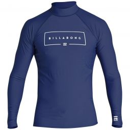 BillabongUnion Performance Fit Long Sleeve Rashguard