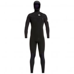 Quiksilver5/4/3 Syncro Chest Zip GBS Hooded Wetsuit