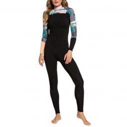 Roxy3/2 Pop Surf Chest Zip Wetsuit - Womens