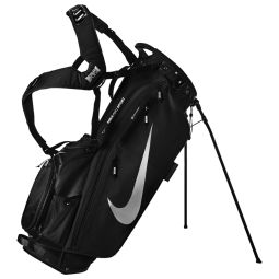 Nike Air Sport Golf Stand Bag - Adult / Black/Metallic Silver