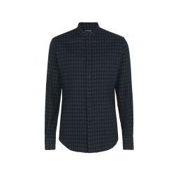 EMPORIO ARMANI Solid color shirt