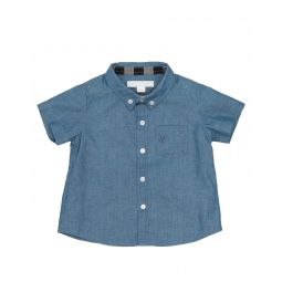 BURBERRY Solid color shirt