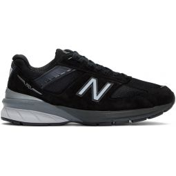 Black & Silver Made In US 990 v5 Sneakers
