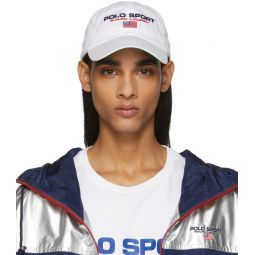 White Sport Cap