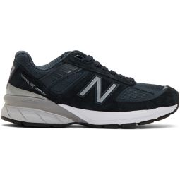Navy Made In US 990V5 Sneakers