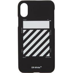 Black Diagonal iPhone XS Max Case