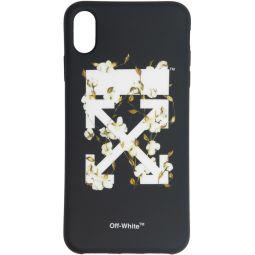 Black Cotton Arrows iPhone XS Max Case