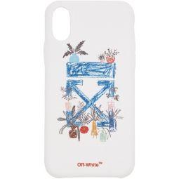 White Arrow iPhone X Case