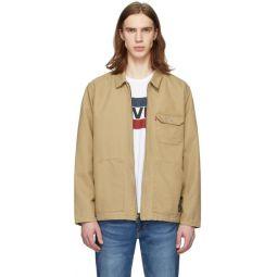Beige Waller Worker Jacket