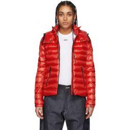 Red Down Bleu Jacket