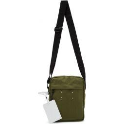 Green Canvas Messenger Bag