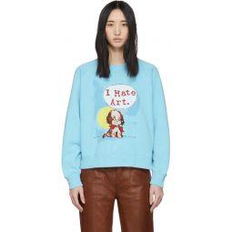 Blue Magda Archer Edition I Hate Art Sweatshirt