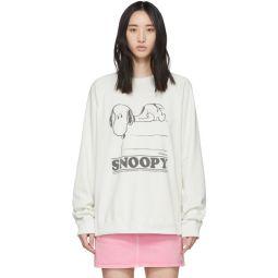Off-White Peanuts Edition Snoopy Sweatshirt