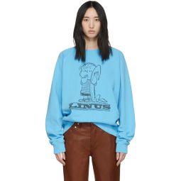 Blue Peanuts Edition Linus Sweatshirt