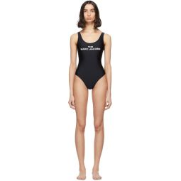 Black The Logo One-Piece Swimsuit