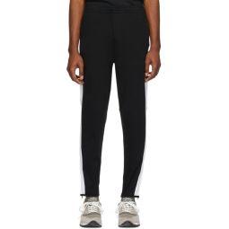 Black Interlock Sweatpants