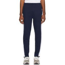 Navy Interlock Lounge Pants