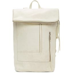 White Tecuatl Duffle Backpack