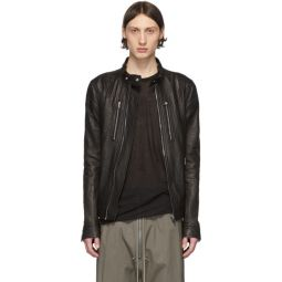 Black Leather IES Jacket