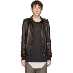 Black Leather Rotterdam Jacket