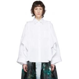 White Deconstructed Shirt
