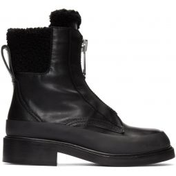 Black Roy Ankle Boots