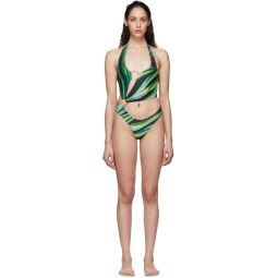 SSENSE Exclusive Black Sex Wax One-Piece Swimsuit