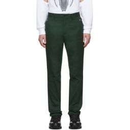 Green Classic Trousers